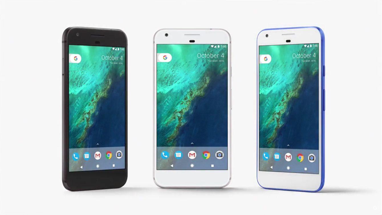 Google Pixel - 3 colors